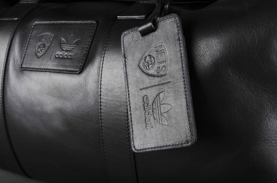 5fcc847f3f39 Brooklyn Nets x adidas Originals – Leather Duffle Bag