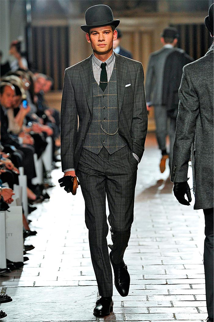 london fashion week hackett fallwinter 2013 the