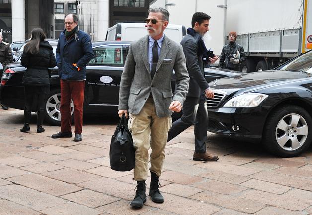 Nick Wooster Grey Suit